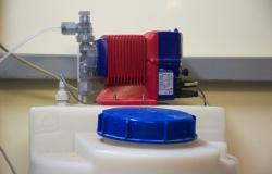 Dávkovací čerpadlo pro dávkování chemie