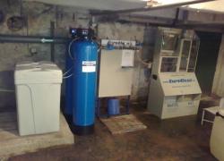 Sestava změkčení a generátoru chlordioxidu v Ústí nad Orlicí