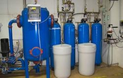 Změkčovací filtry a úpravna vody KEUV